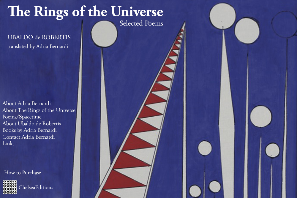 The Rings of the Universe: newest translation by author Adria Bernardi